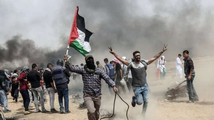 إصابة عشرات الفلسطينيين في مواجهات مع قوة إسرائيلية في القدس