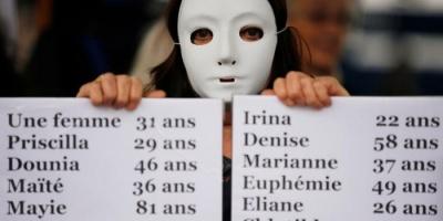 """مظاهرات غضب تشعل """"فرنسا"""" بعد مقتل ما يزيد على 130 امرأة (صور)"""