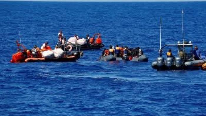 ضبط 9 قوارب هجرة خلال يومين قبالة السواحل الليبية