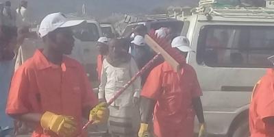حملة نظافة في مديرية حبيل الجبر