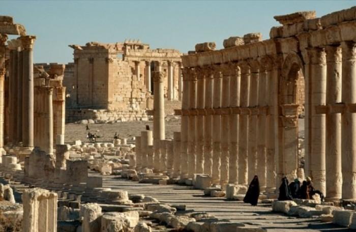 """مذكرة تفاهم روسية سورية لترميم بعض آثار مدينة """"تدمر"""" التاريخية"""