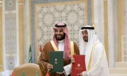"""""""بن زايد"""" و""""بن سلمان"""" يترأسان اجتماع مجلس التنسيق السعودي الإماراتي"""