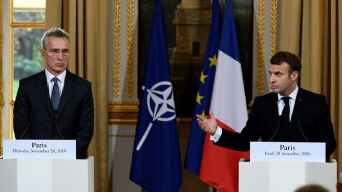 الرئيس الفرنسي يدعو زعماء الناتو لمناقشة التدخل التركي في سوريا