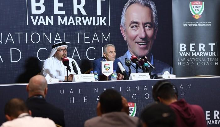 فان مارفيك : نخوض مباراة العراق سعيا للفوز وبحثا عن الثلاث نقاط