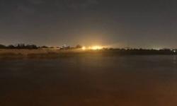سقوط صاروخ في محيط المنطقة الخضراء بالعاصمة العراقية بغداد