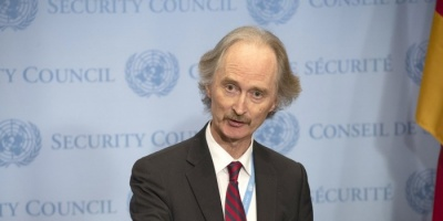 المبعوث الأممى لسوريا: انتهاء الجولة الثانية للجنة الدستورية دون اجتماع الأطراف