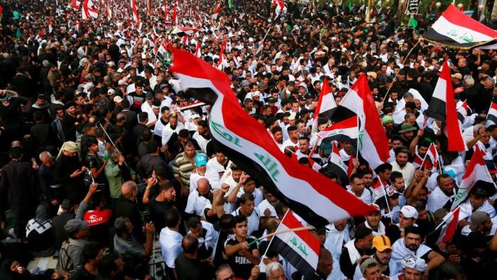العثمان: المتظاهرون بالعراق ولبنان يسعون لإسقاط المشروع الفارسي