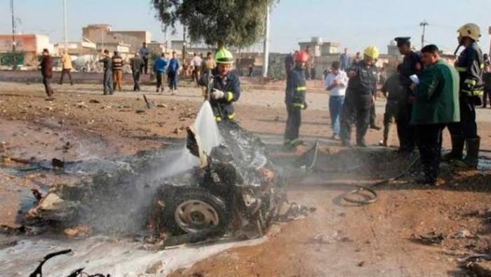 إصابة ١٦ شخصا في تفجيرات استهدفت وسط كركوك العراقية