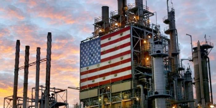إنتاج النفط الأمريكي يرتفع لمستوى قياسي مسجلآ 12.46 برميل يوميا