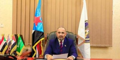 """""""بن عطية"""": قائد التحالف العربي بعدن في ضيافة الرئيس الزبيدي"""
