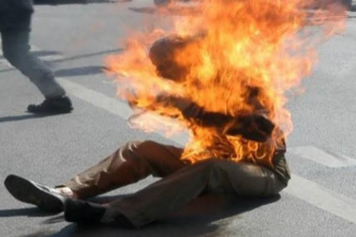 بوعزيزي ثانٍ يظهر في صنعاء.. هل اقتربت الانتفاضة؟