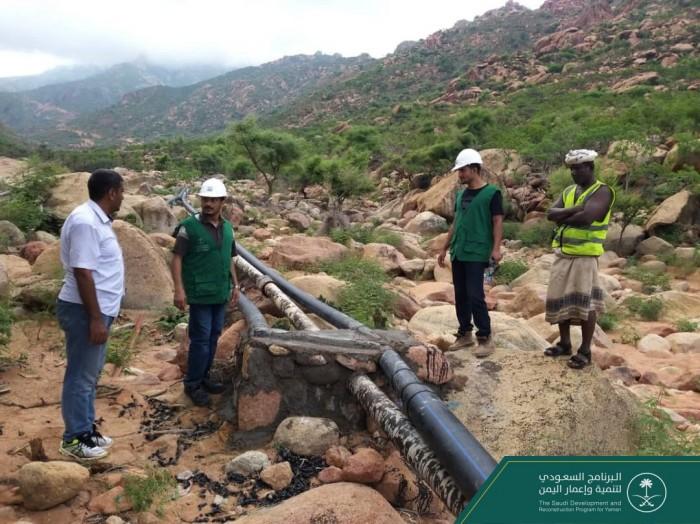 """""""البرنامج السعودي"""": مشروع لضمان وصول المياه لأهالي سقطرى"""