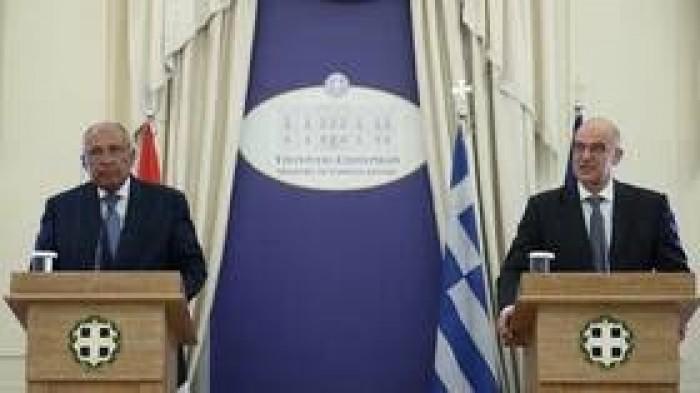 مصر واليونان يجتمعان لبحث اتفاق تركيا والحكومة الليبية لترسيم الحدود البحرية