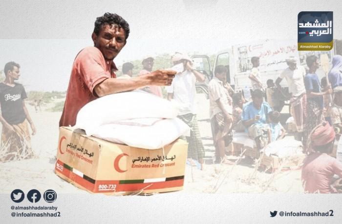 خلال نوفمبر.. هلال الإمارات يقدم دعماً لآلاف الأسر بالحديدة (صور)