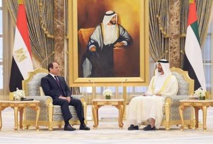 الرئيس المصري يتصل هاتفيا بولي عهد أبوظبي لهذا السبب
