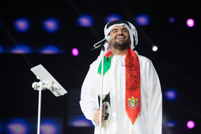 بالفيديو.. حسين الجسمي يتألق في احتفالات اليوم الوطني بالإمارات