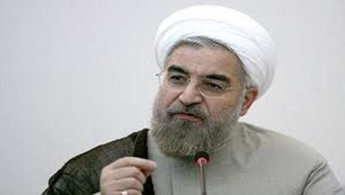 الرئيس الإيران يطالب برفع العقوبات الأمريكية قبيل الدخول في مفاوضات