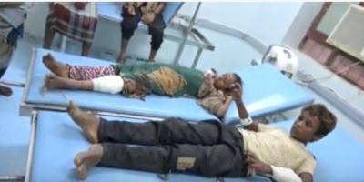 إصابة طفلين برصاص مليشيات الحوثي في المتينة بالحديدة (فيديو)