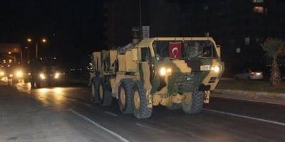 انفجار رتل عسكري تركي في شمال سوريا وسقوط قتلى وجرحى