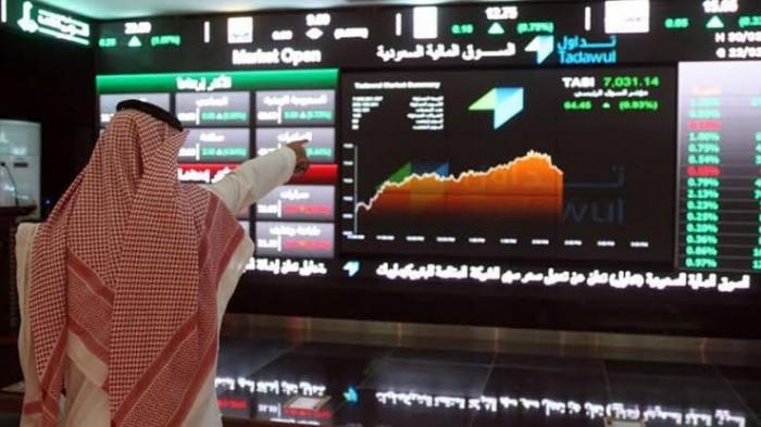 البورصة السعودية تغلق على ارتفاع بتداولات بلغت 2 مليار دولار