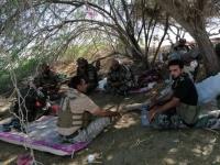 """قيادة """"الحزام الأمني"""" تتفقد قواتها في الشيخ سالم"""