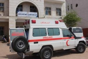"""""""سلمان للإغاثة"""" يوفر سيارة إسعاف لمستشفى الشحر العام (صور)"""