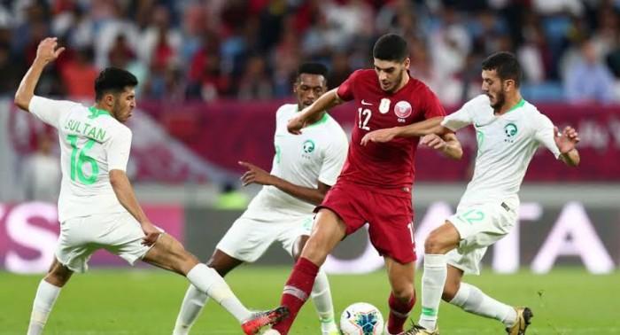 المنتخب السعودي يفوز على المنتخب القطري ويتأهل لنهائي خليجي 24