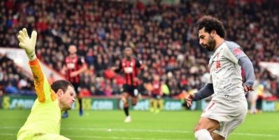 ليفربول يستعرض «هاتريك» صلاح في شباك بورنموث قبل مواجهة الفريقين