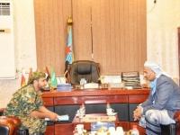 الزُبيدي يتوعد الحوثيين في جبهات شمال الضالع بمفاجأة