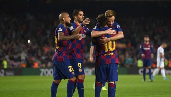 ميسي يقود هجوم برشلونة أمام مايوركا
