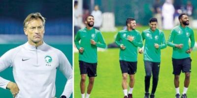 المنتخب السعودي يتدرب على ركلات الترجيح استعدادا لنهائي خليجي 24