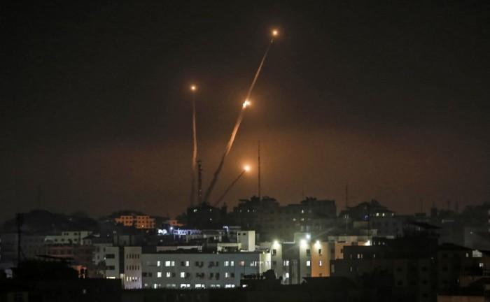 إطلاق صواريخ من غزة على مستوطنات إسرائيلية