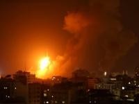 الطيران الإسرائيلي يشن غارات جوية على مواقع من قطاع غزة