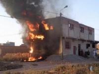 استمرارًا للجرائم.. مليشيا مدعومة من تركيا تحرق منزل فنانة من أكراد سوريا