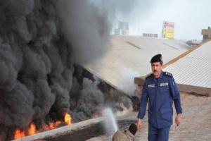 مصدر: حريق مستودع الإلكترونيات بالكويت متعمّد