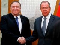 غدا.. بومبيو يستقبل وزير الخارجية الروسي في واشنطن
