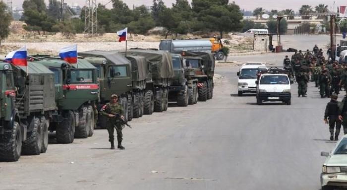الجيش الروسي يدخل للمرة الأولى معقلا سابقا لداعش بسوريا
