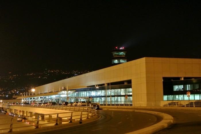 شاهد.. الخسائر تُلاحق مطار بيروت الدولي بعد سقوط الأمطار