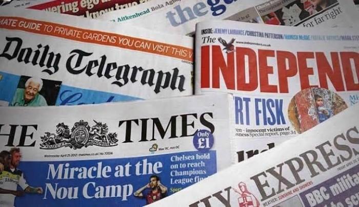 تعرف على أبرز ما ورد بالصحف العالمية اليوم الثلاثاء