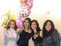 محمود حميدة وبسمة يحتفلون بعيد ميلادهما (صور وفيديو)