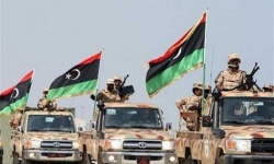 الجيش الوطني الليبى يعلن عن تدمير أسلحة وصلت من قطر وتركيا إلى مليشيا طربلس
