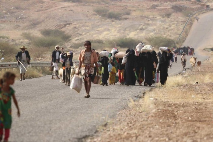 نزوح مكثف في 2019.. هروبٌ من الموت الحوثي