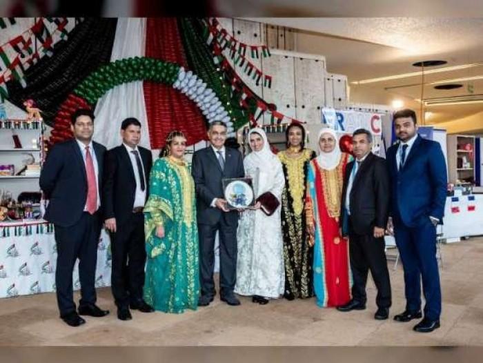 الإمارات تحصد الجائزة الأولى بمعرض السوق الخيري للأمم المتحدة