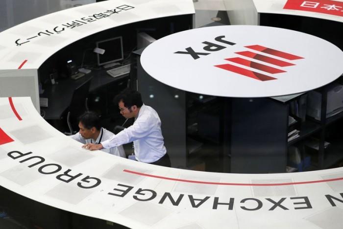 نيكي الياباني يصعد في بورصة طوكيو 0.25%