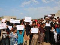 خلال وقفة احتجاجية.. أهالي الدريهمي يطالبون بطرد مليشيا الحوثي