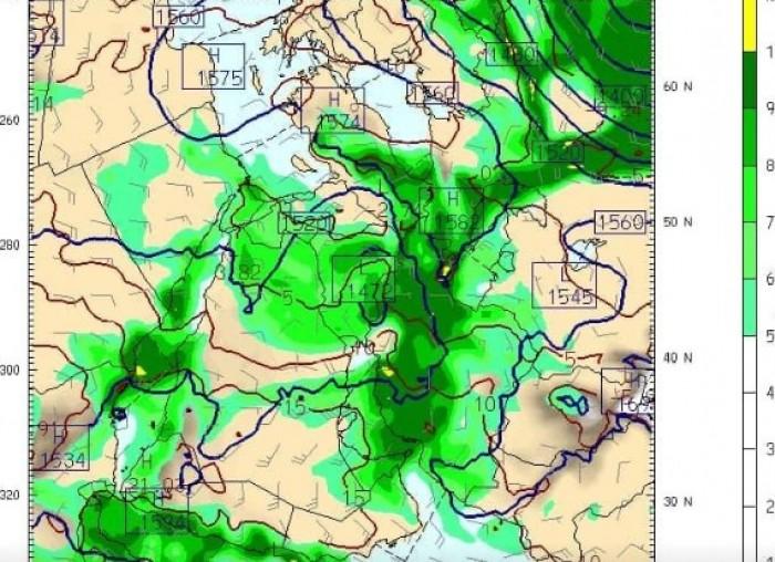 أمطار على المناطق الساحلية منتصف الأسبوع المقبل