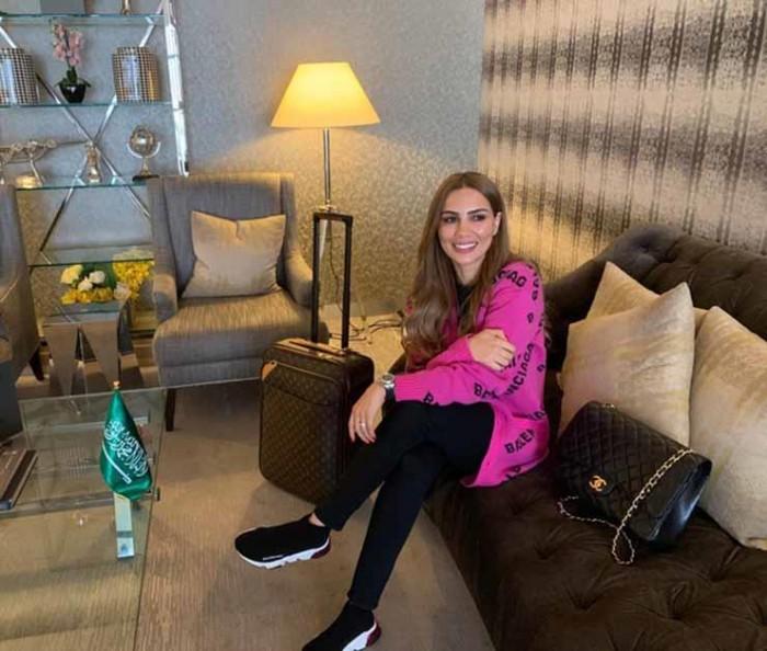 """شيما هلالي تصل الرياض للمشاركة بموسم """"الدرعية"""""""