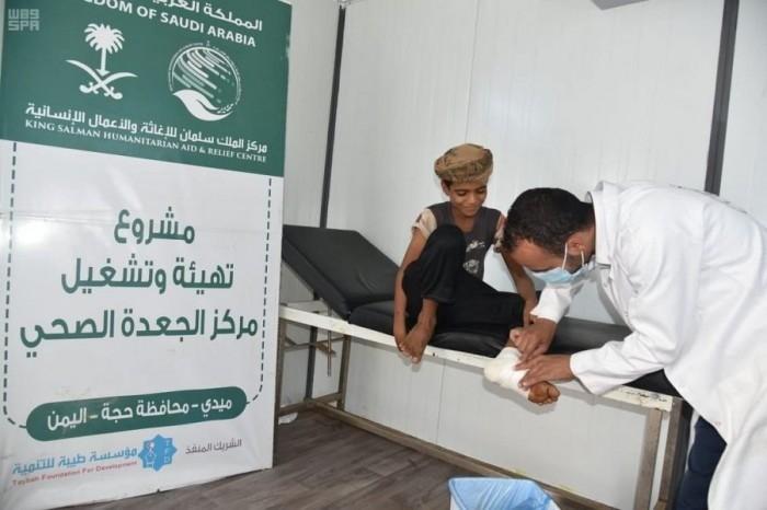 خلال أسبوع.. مركز الجعدة الصحي يستقبل مئات المرضى في حجة