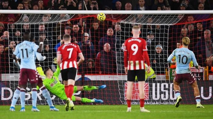 شيفيلد يونايتد يفوز على أستون فيلا في الدوري الإنجليزي