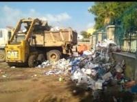 """""""الانتقالي"""" يدشن حملة نظافة أسبوعية في خورمكسر (صور)"""